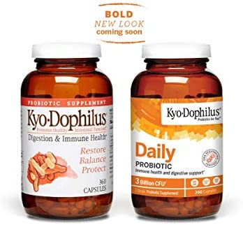 Kyo-Dophilus Daily Probiotic, Immune and Digestive Support, 360 capsules (Packaging may vary) 1