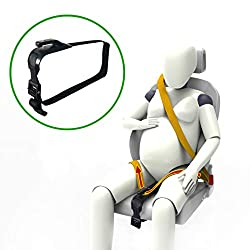 Zuwit bump belt adjuster makes the seat belt sit across the thighs, instead of over the belly which causes much discomfort for growing bellies. It allows pregnant driver to focus on driving, as well as makes pregnant passenger more comfortable and sa...
