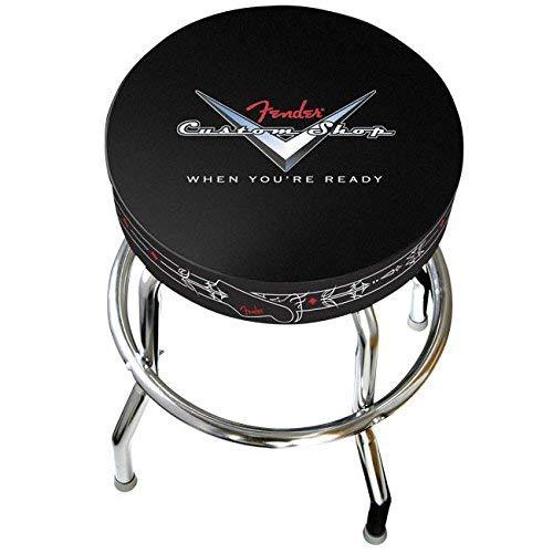 Fender 24-Inch Custom Shop Pinstripe Bar Stool