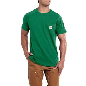 Carhartt Men's Force Cotton Delmont Short Sleeve T-Shirt (Regular and Big & Tall Sizes) 6 Fashion Online Shop Gifts for her Gifts for him womens full figure