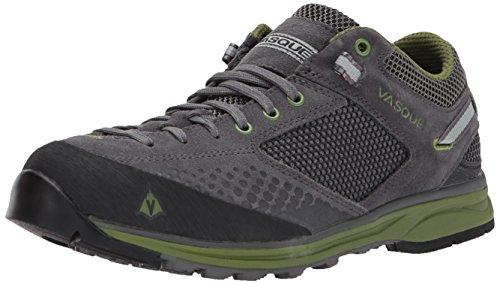 Vasque Men's Grand Traverse Hiking Shoe, Magnet/Pesto, 10 M US