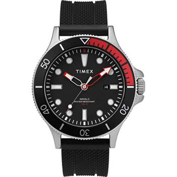 Timex 43 mm Allied Coastline Silcone Black/Red One Size