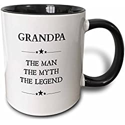 """Grandpa The Man The Myth The Legend"" Mug"