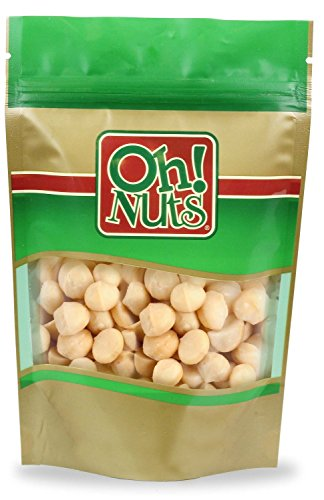 Raw Hawaiian Macadamia Nuts (1 Pound Bag) - Oh! Nuts