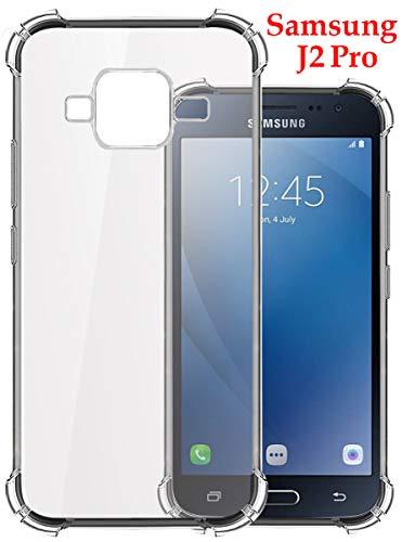 Jkobi Silicone Back Case for Samsung Galaxy J2 Pro -Transparent 1