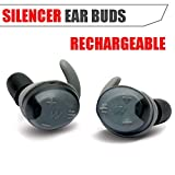 Walker's Silencer Digital Earbuds Rechargeable, NRR23dB, Sound Supression, Sound Activated Compression, Advanced Digital Circuit