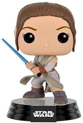 Funko POP Star Wars: Episode 7: The Force Awakens Figure - Rey with Lightsaber
