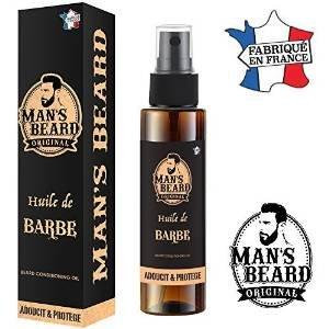 Huile de barbe man's beard - fabrication française