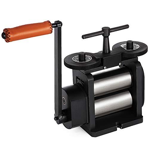 VEVOR-Jewelry-Flat-Rolling-Mill-130mm-Width-Flat-Rolling-Mill-65-mm-Diameter-Rollers-Rolling-Mill-Press-Gear-Ratio-41-Jewelry-Press-Tabletting-Tool-for-Jewelry-Repair-Design