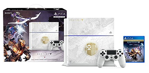 PlayStation 4 500GB Limited Edition Console – Destiny: The Taken King Bundle [Discontinued]