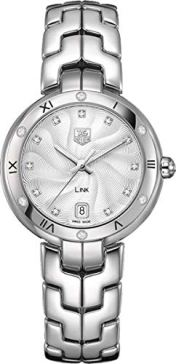 TAG Heuer Women's WAT1312.BA0956 Link Analog Display Swiss Quartz Silver Watch