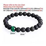 MEleonfQQ Natural Stone Bead Bracelet Eight Planets Bead Universe Chakra Solar Bracelets For Men Handmade Jewelry Drop Shipping NEW D S 180mm(7in)