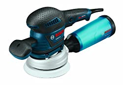 Bosch (ROS65VC-6) Rear-Handle Random Orbit Sander - Best Value
