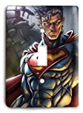 Superman Man of Steel 2 Light Switch Cover