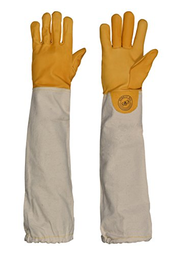 Humble Bee 111-L Cow Leather Beekeeping Gloves (Large)