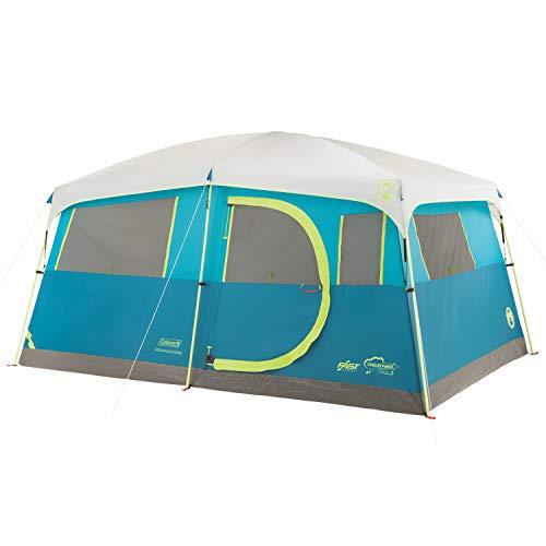 Coleman 8-Person Camping Tent with Built-in Closet | Tenaya Lake Cabin Tent...
