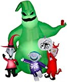 Gemmy Halloween Inflatable 7' Oogie Boogie Nightmare Before Christmas Scene   Airblown Inflatable