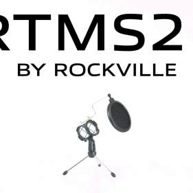 4-Rockville-Dynamic-Podcasting-Podcast-MicrophonesStandsPop-FiltersCables