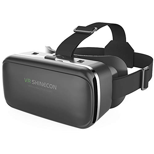 VR Headset,Virtual Reality Headset,VR SHINECON VR Goggles for TV, Movies & Video Games - 3D VR Glasses for Android,iPhone and Other Phones Within 4.7-6.0 inch