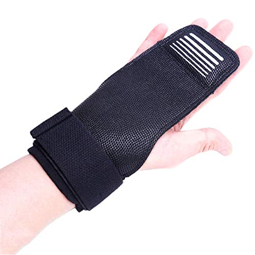 OQBldfiknre Anti-Skid Wrist Support,Men and Women bracers Booster-Weight Lifting,Strength Training Dumbbell Training Protective Gear(A Pair)-A- S
