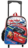 Cars Pixar 12' Toddler Mini Rolling Backpack