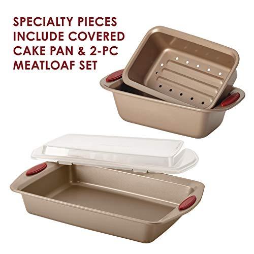Rachael Ray Nonstick Brown Bakeware Set