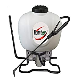 Roundup 190314 Backpack Sprayer for Fertilizers, Herbicides, Weed Killers and Insecticides, 4 gallon
