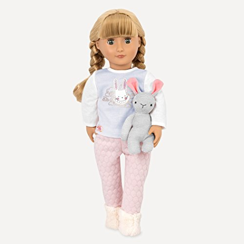 Our Generation 18 Jovie Doll with PJ's and Plush Pet