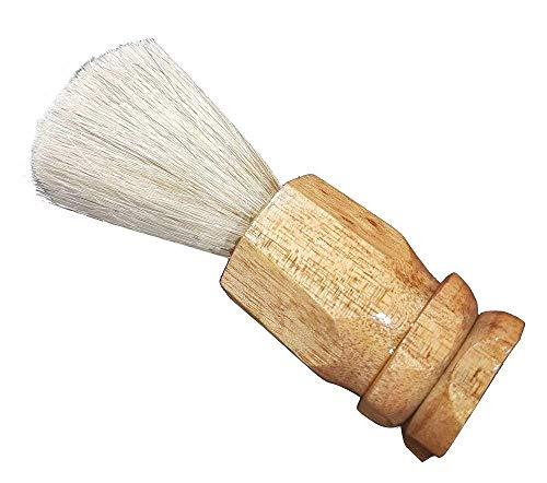 Inaaya Natural Bristles Shaving Brush For Men And Boys, Brown, 20 Gram, Pack Of 1 7