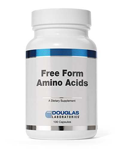 Douglas Laboratories - Free Form Amino Capsules - Balanced Mixture of Amino Acids to Support Overall Health* - 100 Capsules