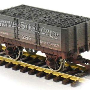 Dapol 4F-052-034 5 Plank Wagon 9′ Wheelbase Brymbo Steel 286 Weathered 41Ff2QZ7gQL