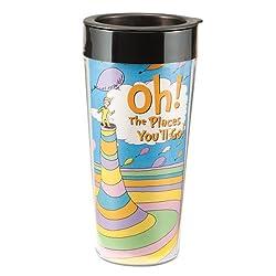 Dr. Seuss Plastic Travel Mug