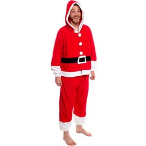 e2727057b8 Silver Lilly Unisex Pajamas – One Piece Cosplay Holiday Santa Claus Costume