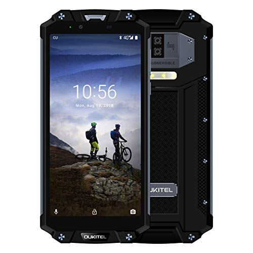OUKITEL WP2 Rugged Phone 4GB+64GB 10000mAh Battery 6.0 inch Android 8.0 MTK6750T Octa Core up to 1.5GHz GSM & WCDMA & FDD-LTE (Black)