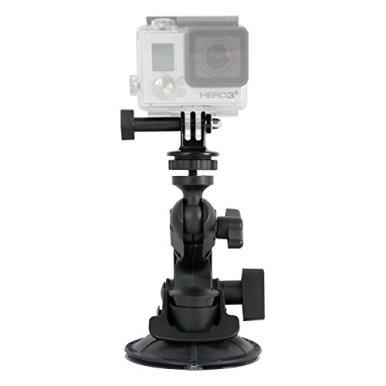 Delkin-DDMNT-MINI-GP-Fat-Gecko-Mini-Suction-Mount-for-GoPro-Cameras-Black