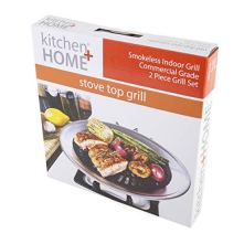 Kitchen-Home-Stove-Top-Smokeless-Grill-Indoor-BBQ-Stainless-Steel-with-Double-Coated-Non-Stick-Surface