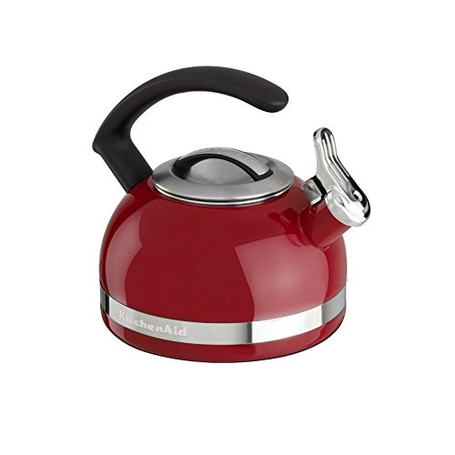 KitchenAid KTEN20CBER 2.0-Quart Kettle with C Handle and Trim Band - Empire Red