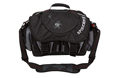 Spiderwire Wolf Tackle Bag, 38.8-Liter, Black