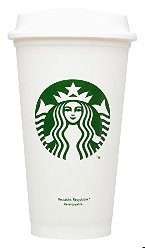 Starbucks Reusable Travel Cup To Go Coffee Cup (Grande 16 Oz)4 pack