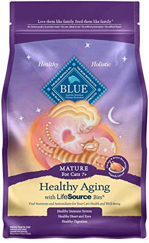 Blue Buffalo Mature Dry Cat Food