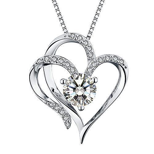 White Gold Plated Necklace