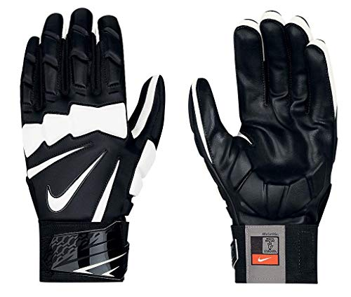 Nike Hyperbeast 2.0 Adult Lineman Gloves (Black/White, 3XL)
