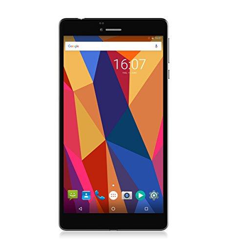ALLDOCUBE Ultra-thin T2 Phone Tablet, 6.89inch 720x1280 IPS Display Cube Dual 4G Phablet Qualcomm Snapdragon MSM8909 Quad-Core Android 6.0, 1GB RAM 16GB ROM, Black