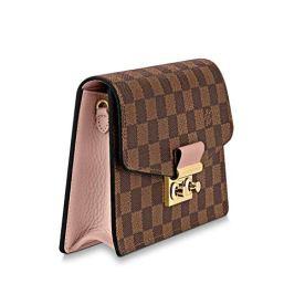 Louis-Vuitton-Damier-Ebene-Canvas-Croisette-Wallet-Bag-Article-N60287