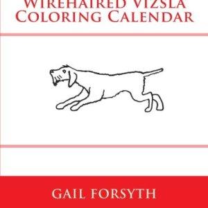 Wirehaired Vizsla Coloring Calendar 1