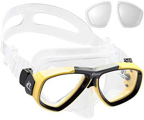 Cressi Focus Custom Prescription Scuba Diving Snorkeling Mask