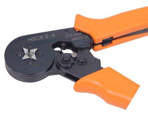 Signstek Adjusting Ratcheting Square Ferrule Wire Cable Crimper ...
