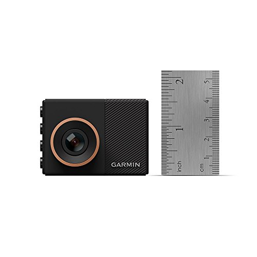 Garmin Dash Cam 55, 1440p 2.0' LCD Screen, Extremely Small GPS-enabled Dash Camera with Voice Control, Loop Recording, G-Sensor and Driver Alerts, Includes Memory Card