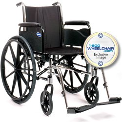 Invacare Tracer SX5 Wheelchair, 18' x 16' with Desk Length Flip-Back Arms