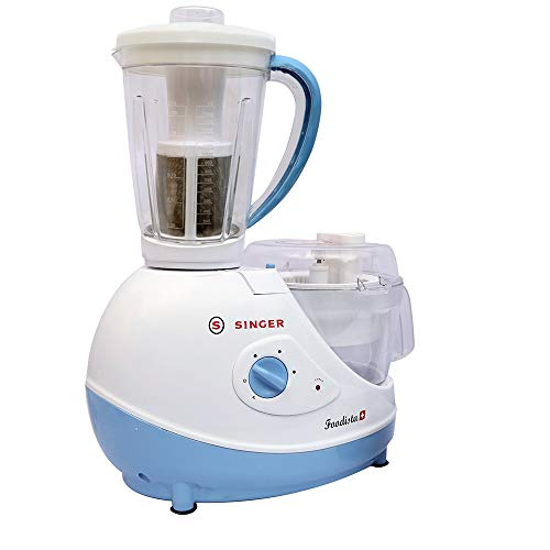 Singer-Foodista-Plus-600-Watts-Food-Processor-with-14-Stainless-Steel-Attachments